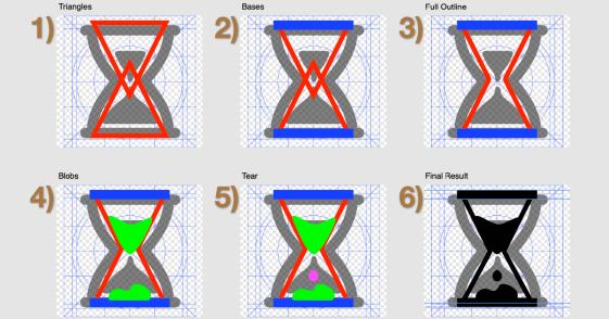 Icon Drawing Process