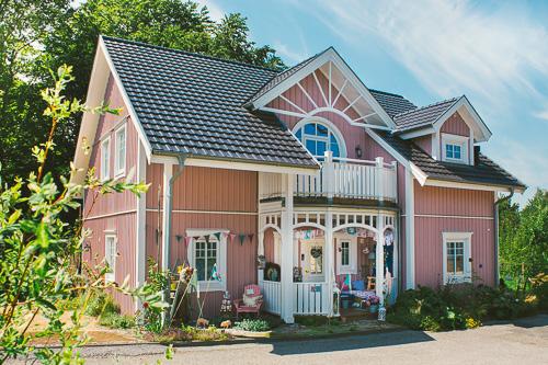 Das rosa Haus von Cute Cottage Overload