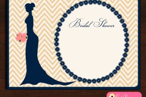 Elegant Bridal Shower Invitation Templates