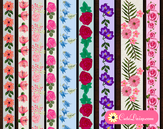 photograph about Free Printable Washi Tape referred to as Absolutely free Printable Washi Tapes