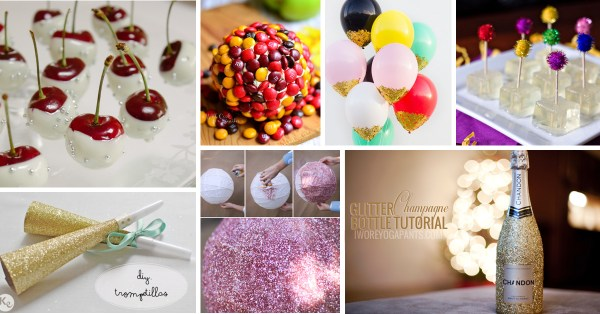 30+ Fun DIY New Year's Eve Party Ideas – Cute DIY Projects