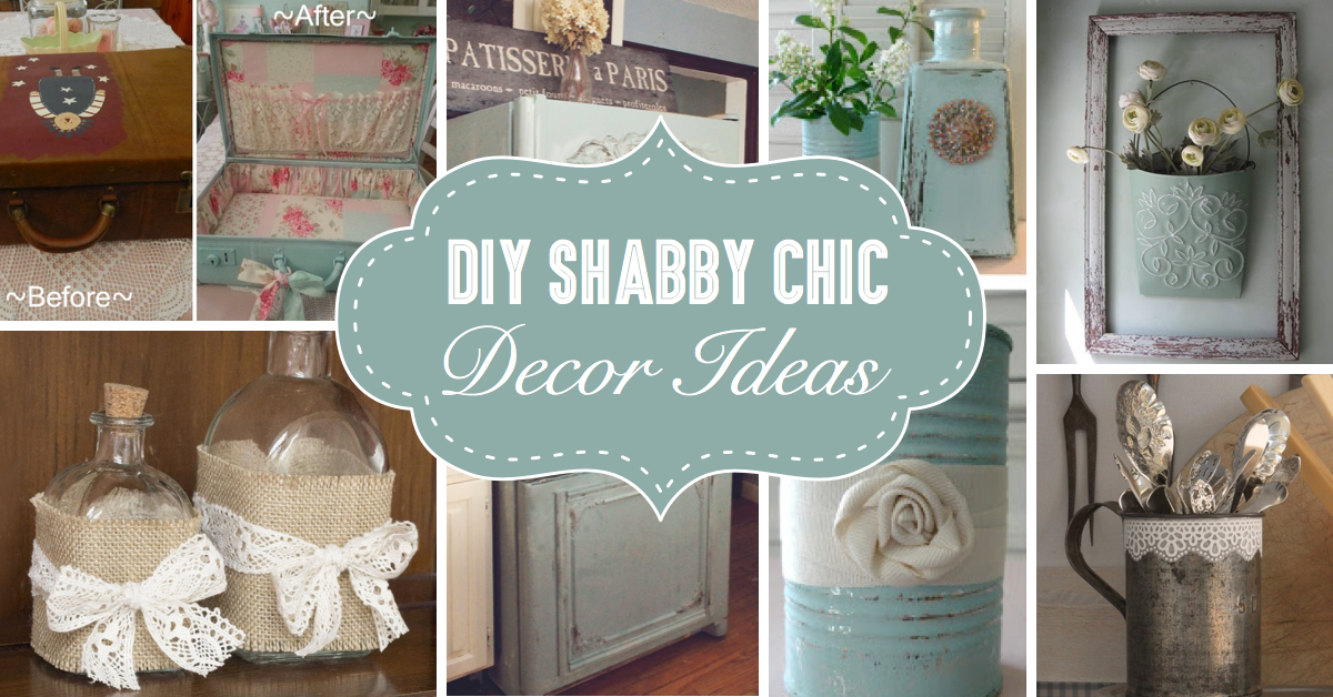 25  DIY Shabby Chic Decor Ideas For Women Who Love The Retro Style     25  DIY Shabby Chic Decor Ideas For Women Who Love The Retro Style