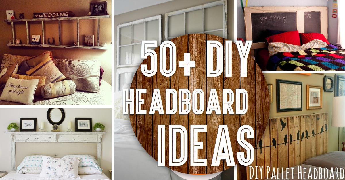 50 outstanding diy headboard ideas to
