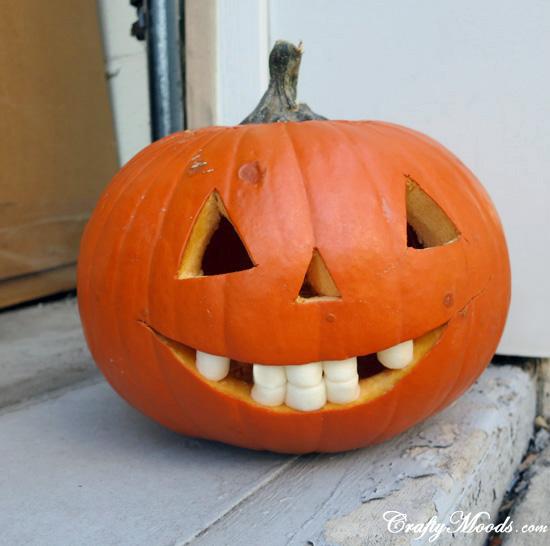 Marshmallow-Mouthed Jack-o-Lantern