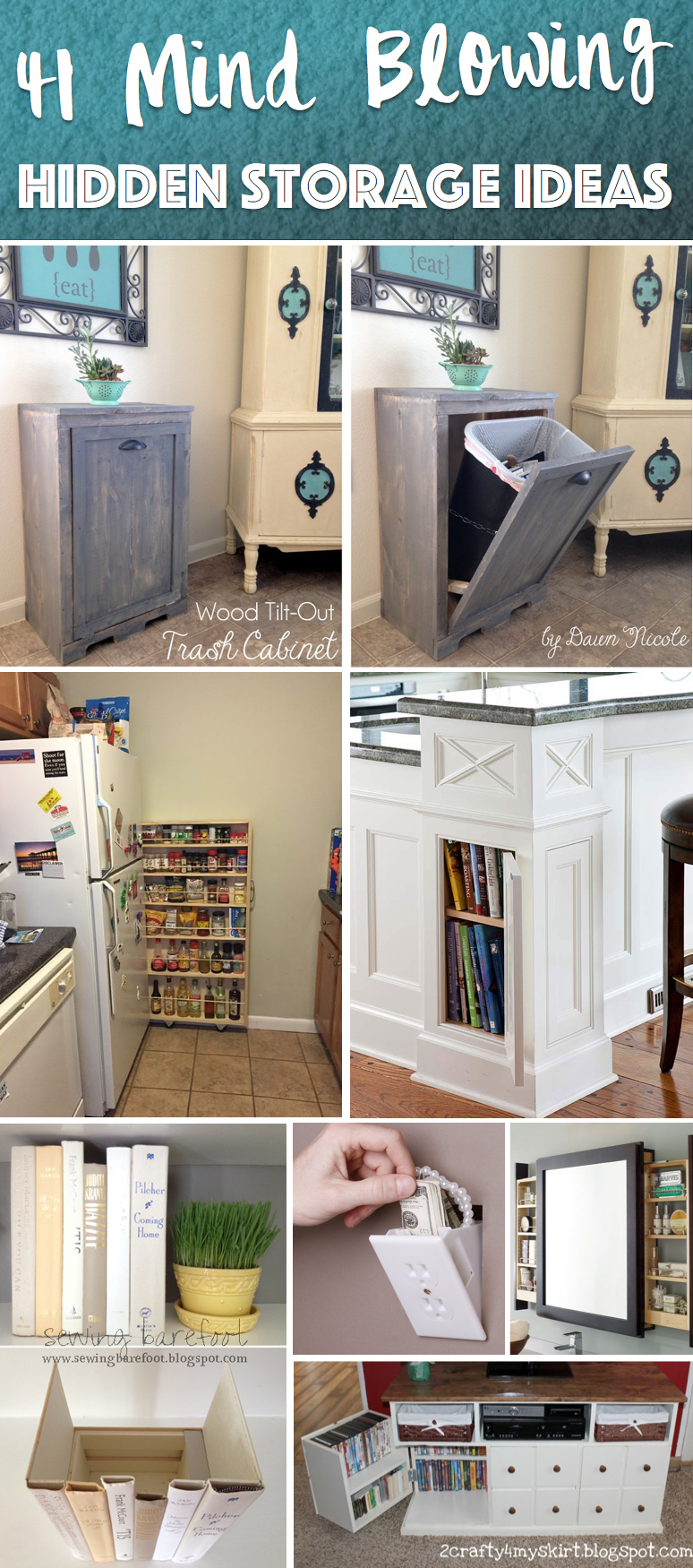 41 Mind Blowing Hidden Storage Ideas Making A Clever Use Of