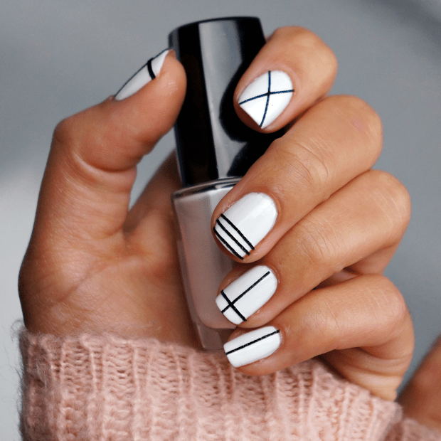 Nail Art Designs By Hand