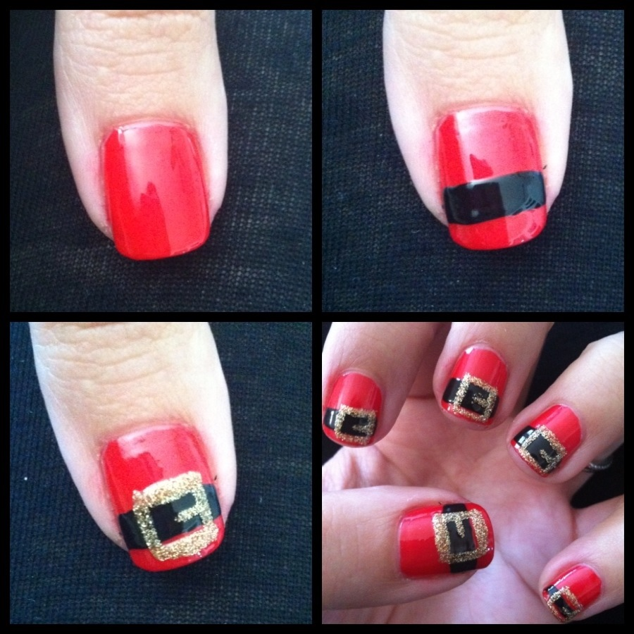 Christmas Nails 14 Easy Festive Nail Art