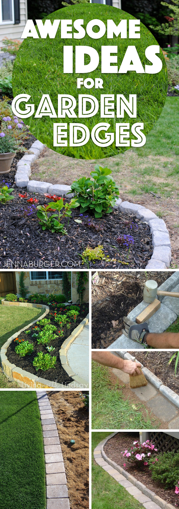 Awesome Ideas for Garden Edges