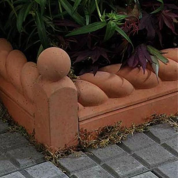 Terra Cotta Garden Edging