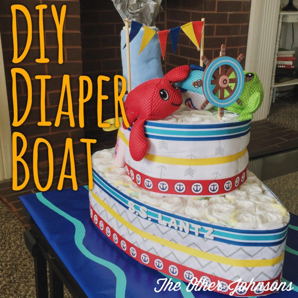 Baby Shower Ts 13 Diy Adorable Diaper Cake Ideas