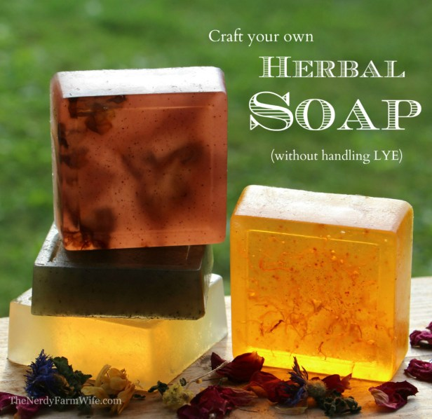Making Soap Without Lye (sort of)