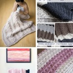 25 Crochet Blanket Patterns Coming With Soothing Designs And Cozy Textures