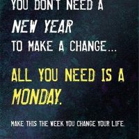 Motivation Monday & A New Year