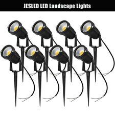 12V 5W LED Low Voltage Landscape Light 3000K Garden Outdoor Spotlight Waterproof