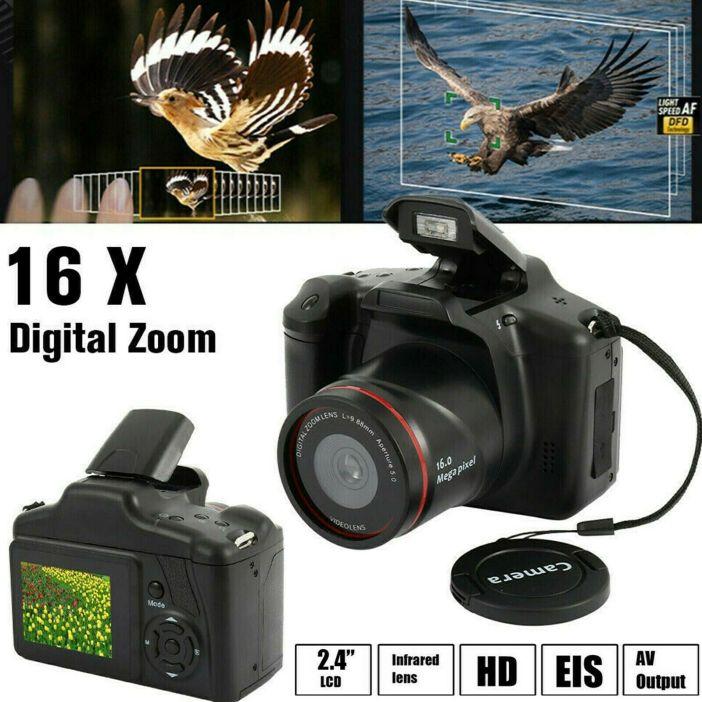 Digital SLR Camera 3.0 Inch TFT LCD Screen 16X Zoom HD 16MP 1080P Anti-Shake US