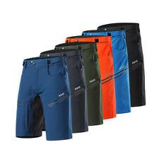 Men's Cycling Shorts Loose Fit MTB Bike Shorts Bicycle Pocket Short Pants