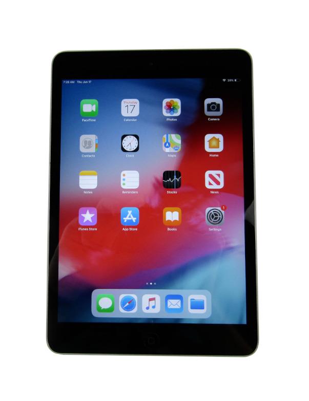 Apple iPad mini 2, A1489 7.9'' Tablet 16GB Wi-Fi - Space Gray, iOS 12, MLEC