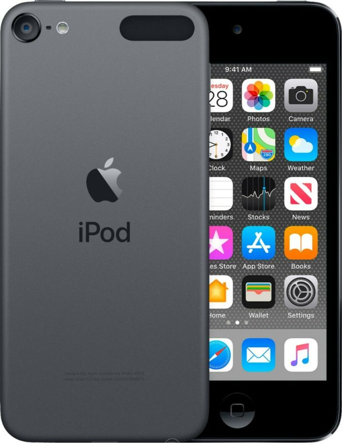Apple iPod Touch (7th Generation) - MP4, MP3, Player 32GB A2178 - Space Gray