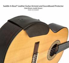 Saddle-A-Bout® Leather Guitar Armrest