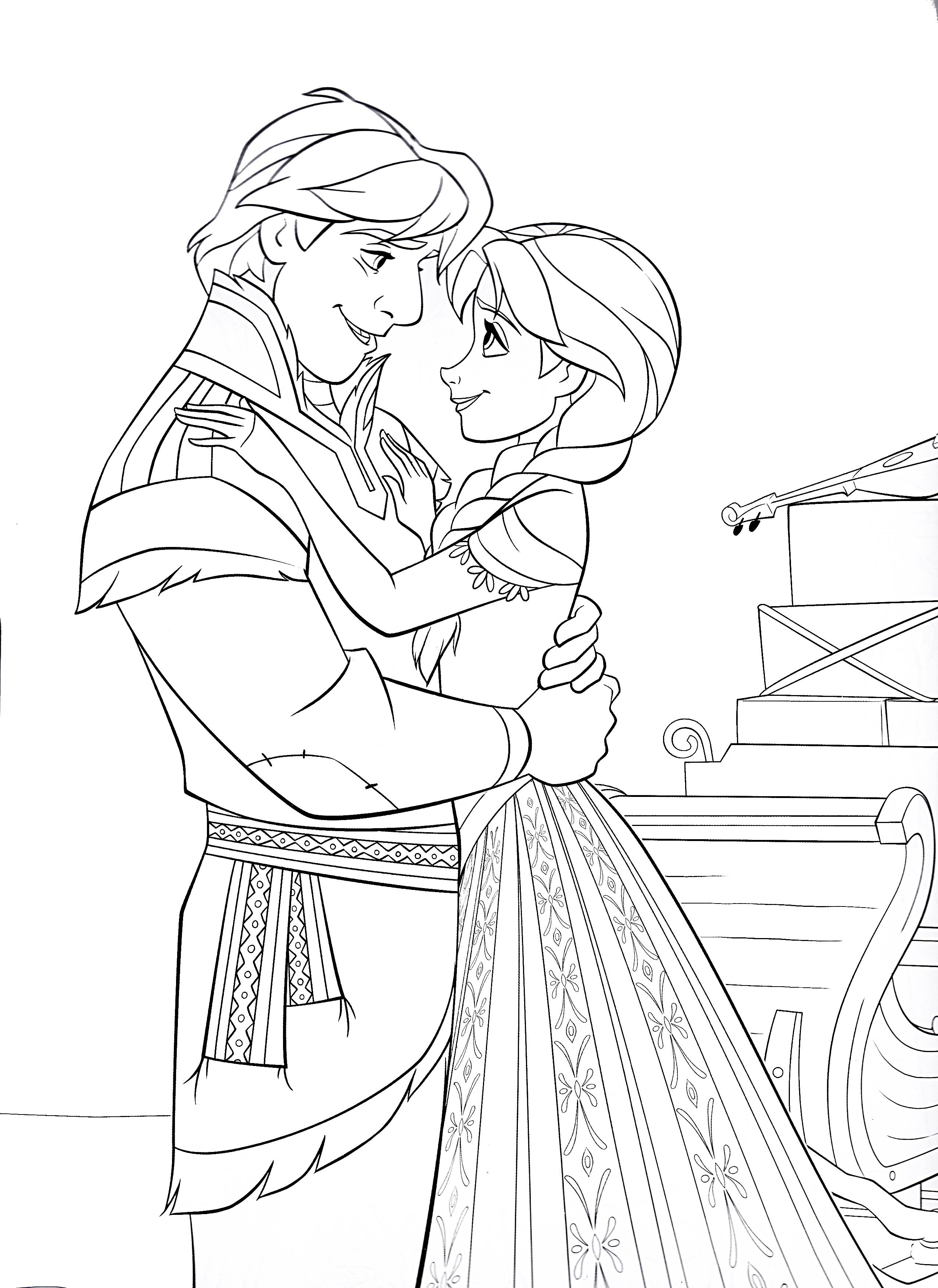 Prince hans frozen coloring pages - Prince Hans Frozen Coloring Pages 40