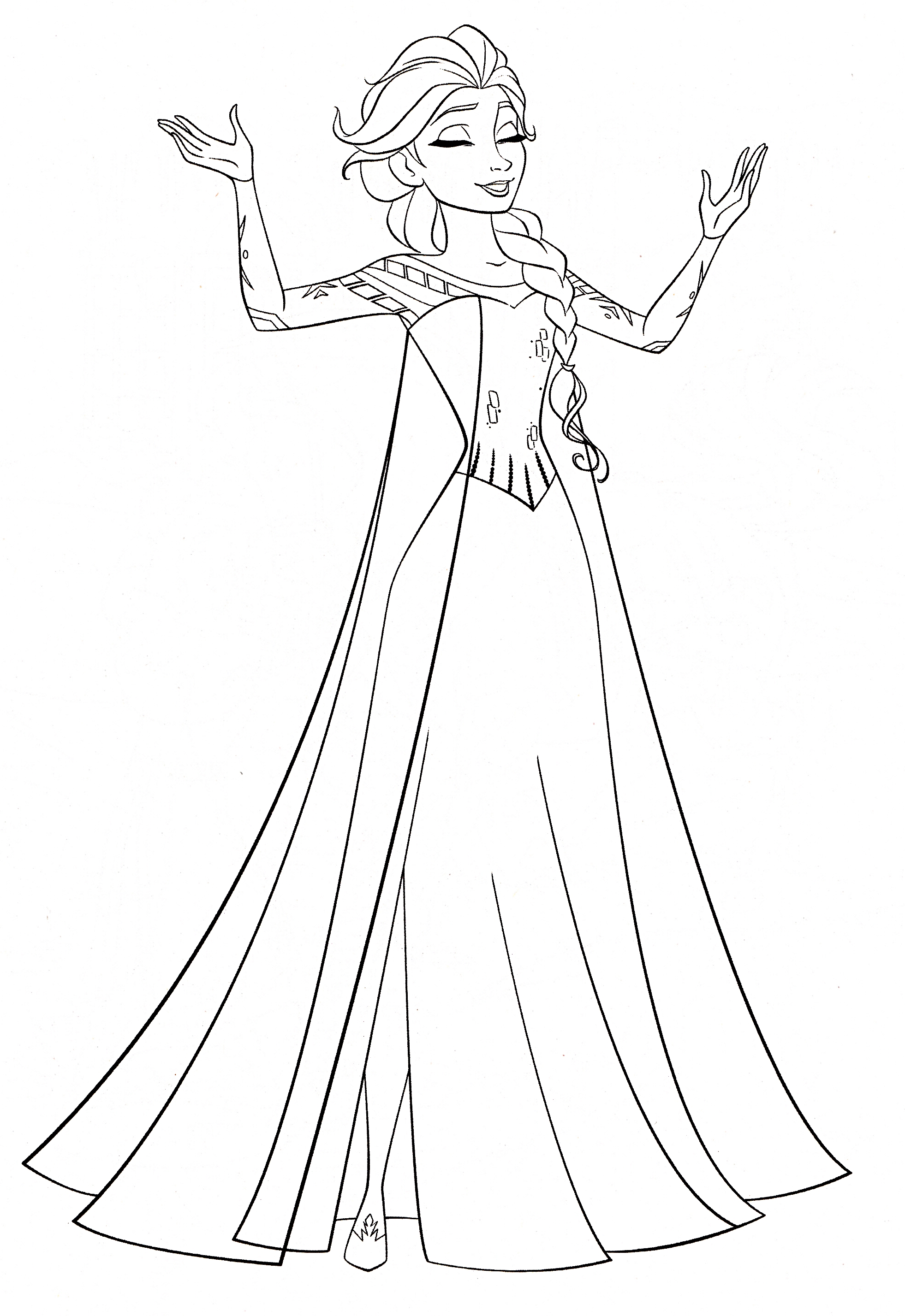 Disney S Frozen Colouring Pages