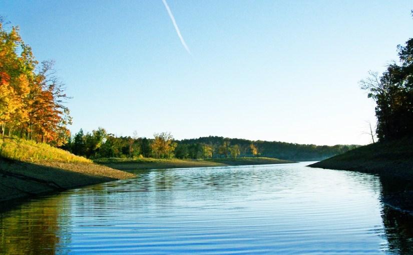 Beaver Lake AR Horseshoe Bend Peninsula