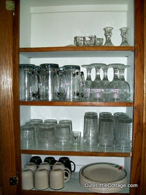 GlasswareCorelle cups and Dinnerware and mugs in this Beaver Lake Cabin Rental & GlasswareCorelle cups and Dinnerware and mugs in this Beaver Lake ...