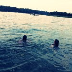 Swimming in Beaver Lake