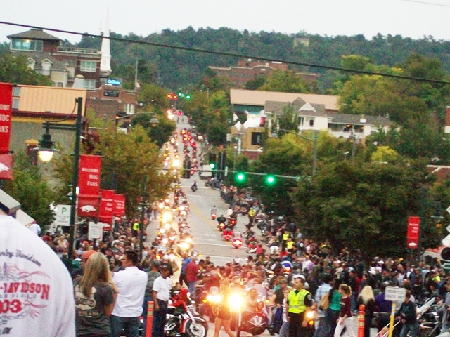 Bikes Blues & BBQ Fayetteville Arkansas