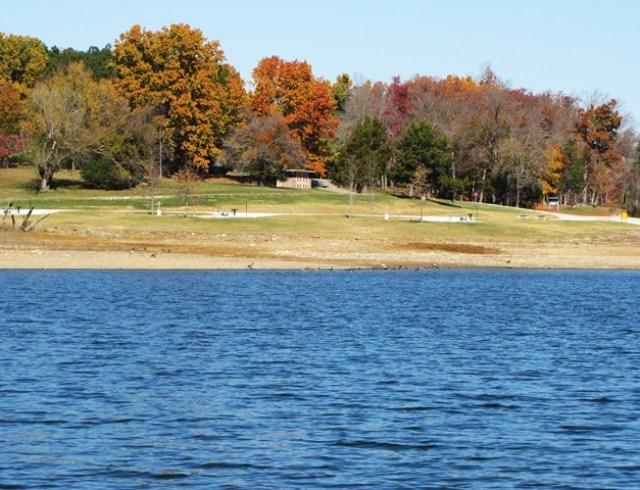 Horseshoe Bend On Beaver Lake AR a