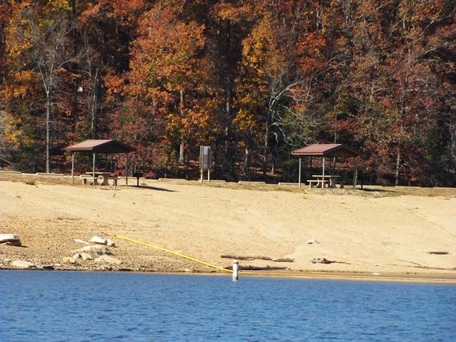 Sandy Beach Swimming Area Horseshoe Bend Park On Beaver Lake AR