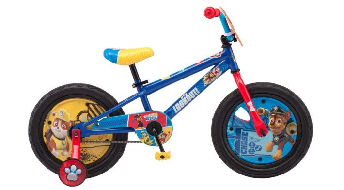 Nickelodeon Paw Patrol Boy Bike Review