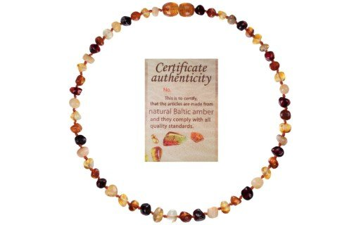 Mommy's Touch Natural Amber Teething Necklace Review