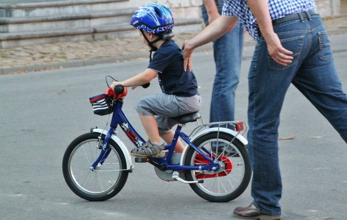 Step-by-Step Teaching to Ride Bike