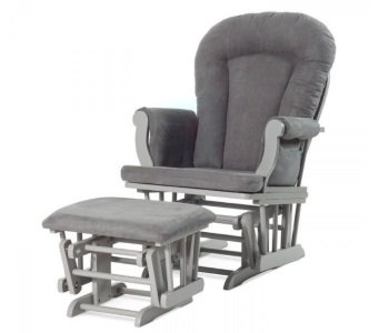 Childcraft Forever Glider and Ottoman Review