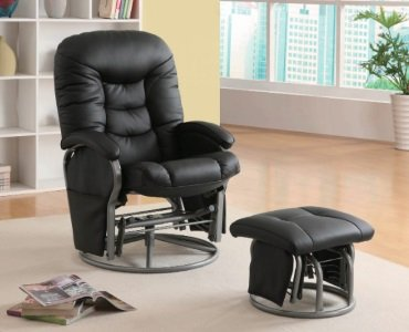 Coaster Leatherette Glider Review