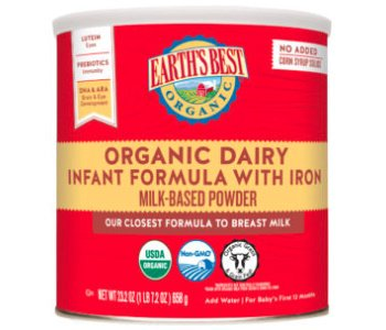 Earth's Best Organic Dairy Infant Formula Review