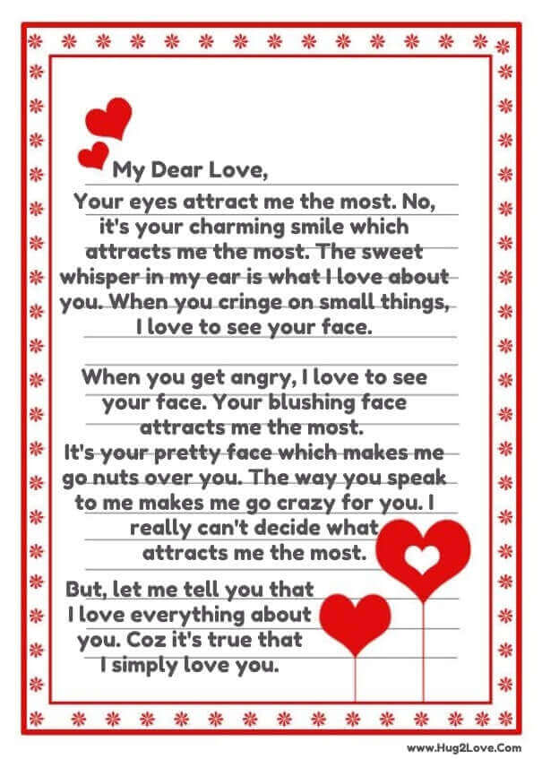love letters him