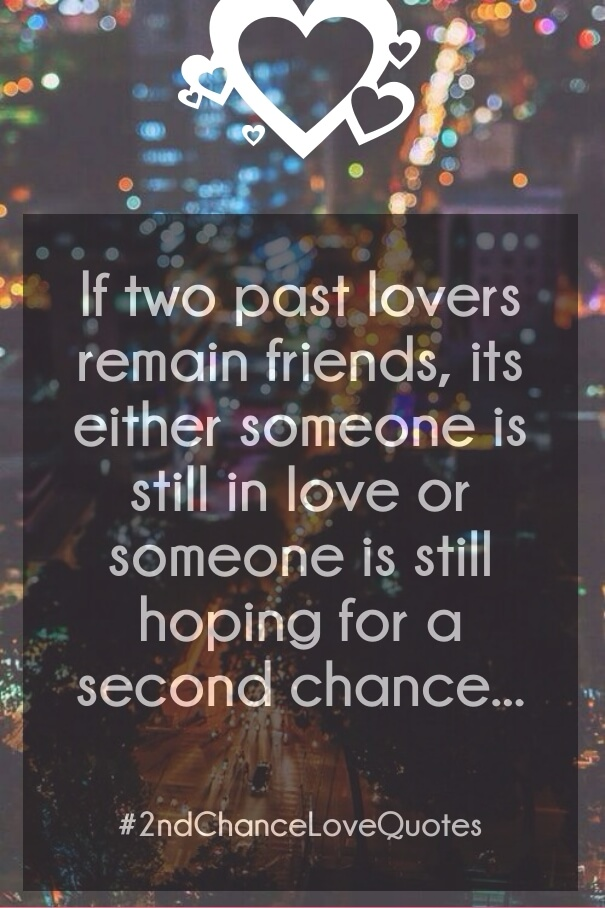 Chance Quotes Second Love Giving