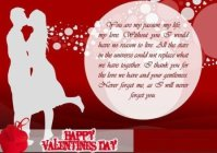 valentines day greetings for lover