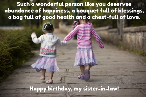 Image of: Wife Funny Birthday Wishes For Sister In Law Images Shutterstock Top 30 Birthday Quotes For Sister In Law With Images