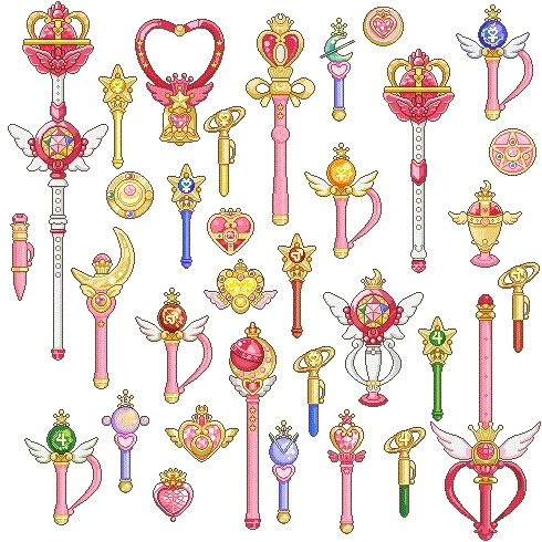 美少女戦士セーラームーン This brought me back to my childhood: Sailor moon gizmos