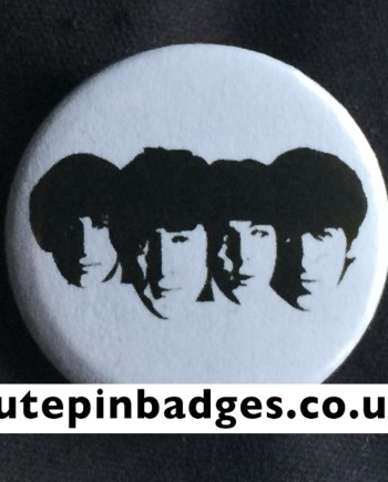 Beatles Faces Badge