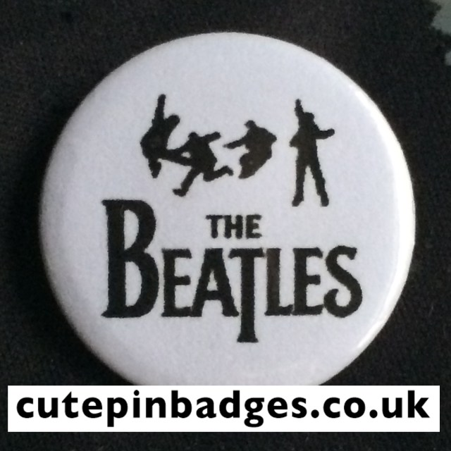Beatles Silhouettes Badge