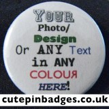 Bespoke Pin Badge