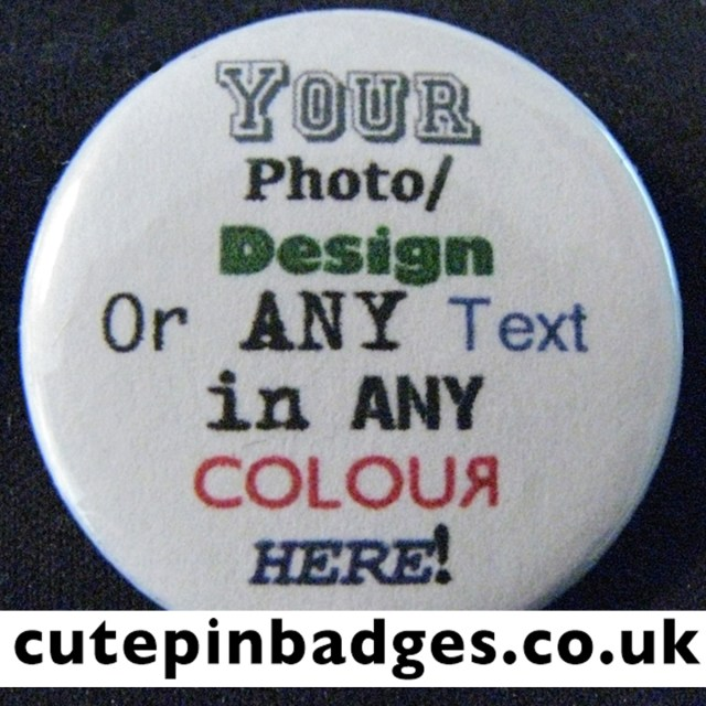 Bespoke Pin Badge x1