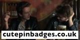 Joe Strummer Rude Boy Clash Star Pin Badges 2