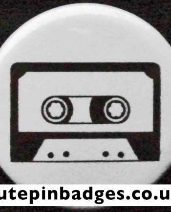 Cassette Tape Badge