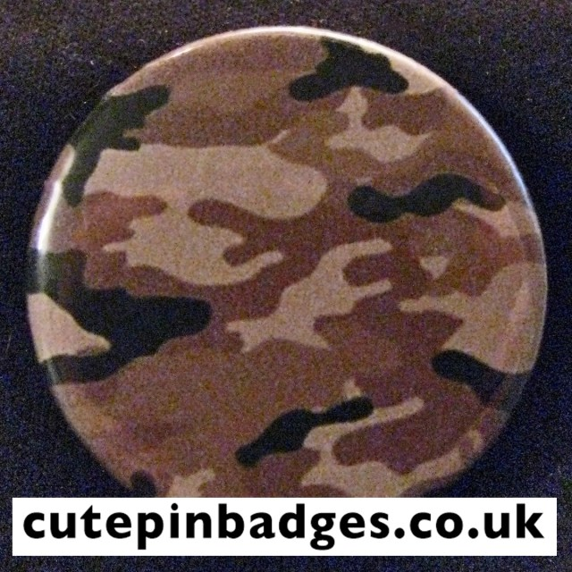Coyote Seal Camouflage Badge