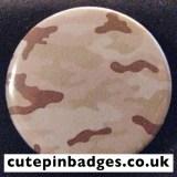 Desert Sand Camouflage Badge